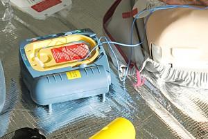 Defibrilator-Detail