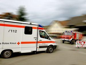 RTW und Feuerwehrauto